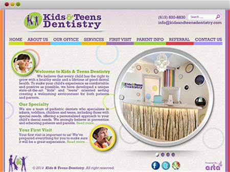 KIDS & TEENS DENTISTRY